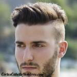 corte cabello corto lados arriba largo primavera
