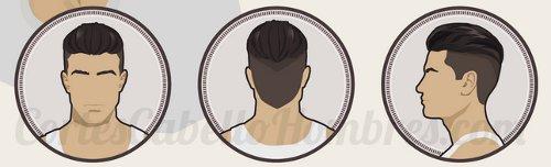 corte cabello hombre rebajado pelo lados