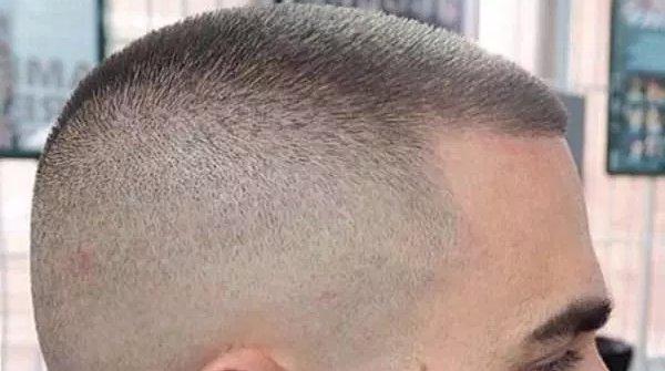 corte militar cabello